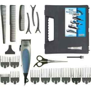 22 Piece Haircut Kit Thumb Adjustable Taper 9 Guide Combs: Electronics