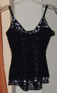 GUESS BLACK LACE BLOUSE TOP WOMENS LADIES SMALL NWOT