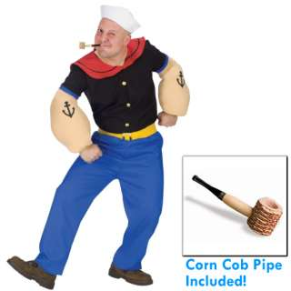 POPEYE THE SAILOR MAN ADULT MEN FUNNY HALLOWEEN COSTUME