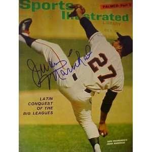 Juan Marichal San Francisco Giants Autographed August 9
