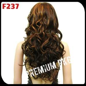 NEW BRAZILIAN BODY WAVE CURL LACE FRONT WIG Beyonce NICKI RIHANNA