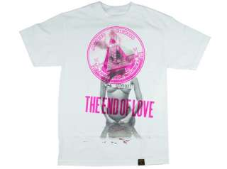 DISSIZIT END OF LOVE TEE PINK RARE PRINT SOLD OUT EVERYWHERE