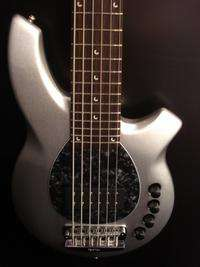 NEW Ernie Ball MusicMan BONGO 5 String Bass Sterling Silver