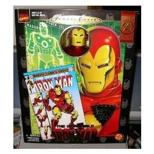 Marvel Famous Covers Iron Man Toys & Games