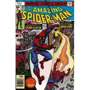 Amazing Spider Man #167 Comic Book