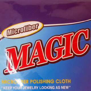 Microfiber Cleaning Cloth Diamond Gold Silver Jewelry Professional