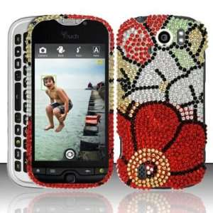 HTC myTouch Slide 4G (T Mobile) Full Diamond Design Case
