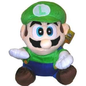 7 Super Mario LUIGI Plush Doll with suction cup