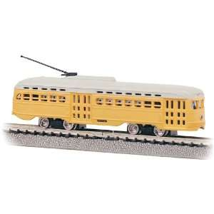 Bachmann HO Scale Streamline Trolley (BTC): Toys & Games