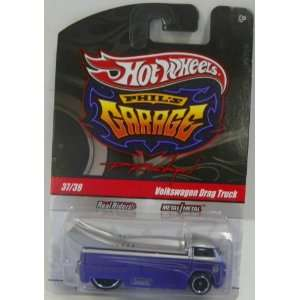 Garage Series No#37 of 39 Volkswagen Drag Truck in Color Purple/grey