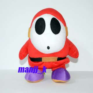 NEW 24cm Super Mario Shy Guy Plush Doll Figure