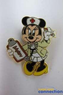 Disney Nurse Minnie Mouse 2001 Nurses Day Red Cross Pin
