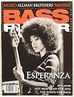 bass player magazine esperanza spalding allman brothers joey vera very