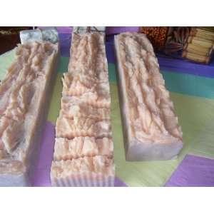 PF 4 lb Handmade Unsliced All Natural Vanilla Sugar Soap
