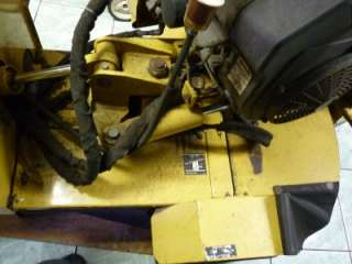 2005 VERMEER MODEL SC252 HYDRAULIC SELF PROPELLED STUMP GRINDER