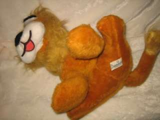 LARGE VINTAGE VERY NICE KNICKERBOCKER PLUSH LION DOLL TOY