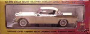 18 1957 Studebaker Golden Hawk WHITE
