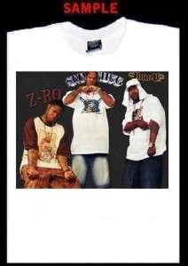 SLIM THUG BUN B Z RO CUSTOM T SHIRT TEE rap hip hop 356