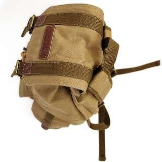 SLR DSLR Camera Backpack Canvas Bag 4 Canon Nikon Sony