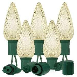 25) Bulbs   LED Warm White C9 Christmas Lights   Length 25 ft.   Bulb