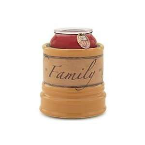 Electric Jar Candle Warmers Crock Style Faith, Family