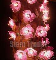 35 BULB PURPLE FLOWER PARTY / CHRISTMAS STRING LIGHTS