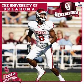 Oklahoma Sooners 2012 Calendar 12x12 Team Wall Calendar