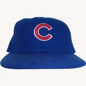 Esmailin Caridad #33 2010 Chicago Cubs Game Used Blue Hat (Size 7 1/4