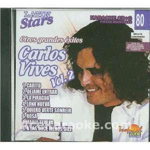 Latin Stars Vol. 80   Carlos Vives Vol.2 Karaoke CDG (Sale!) Music
