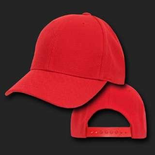 Childrens Plain Pro Baseball Cap