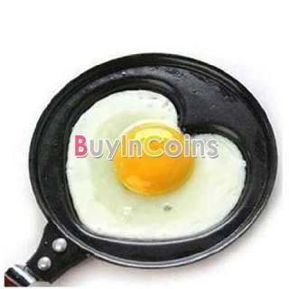 Kitchen Special Non stick Stainless Steel Fry Pan Love Heart Egg Pot