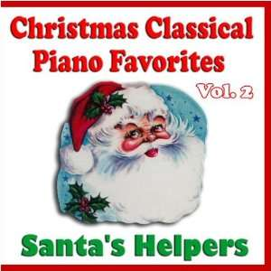 Christmas Classical Piano Favorites Volume Two Santas