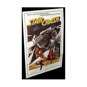 Star Crash Folded Movie Poster 1979 Everything Else