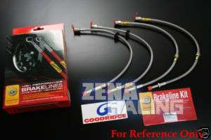 Goodridge Brake lines Kit Fiat Bravo Ritmo 1.4 Turbo 08