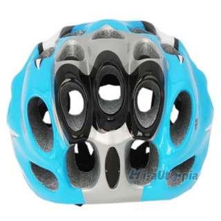 Bike Helmet New Cool EPS PVC 39 Vents Sports Bicycle Cycling Blue