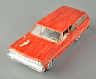 1964 Chevrolet Chevy Malibu Station Wagon Model Car Assembled Painted