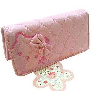 HELLO KITTY CLUTCH LONG CARD WALLET COIN BAG PURSE P04P