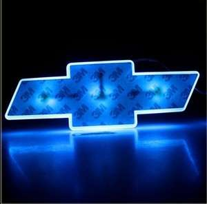 NEW LED Car Decal Logo Light Badge Lamp Emblem Sticker for Chevrolet