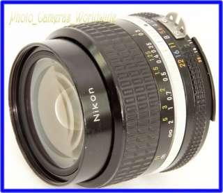 NIKKOR 24mm F2   FAST Ultra WIDE Angle Nikon Ai s Lens for analog
