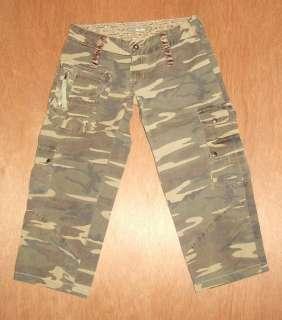 Womens Miss Me Cargo Capris jeans size S