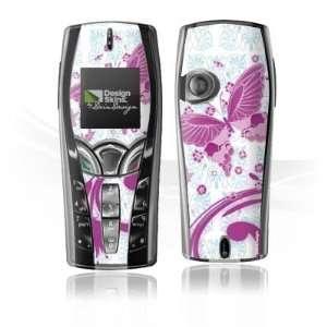 Design Skins for Nokia 7250   Pink Butterfly Design Folie