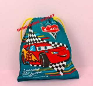 Disney Pixar Car Drawstring Bag Pouch C13e