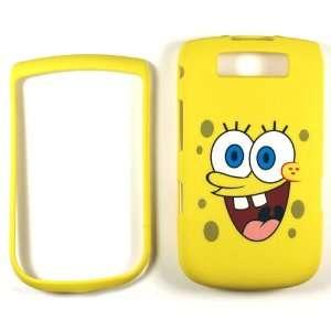 Spongebob Yellow Blackberry Torch 9800 Faceplate Case