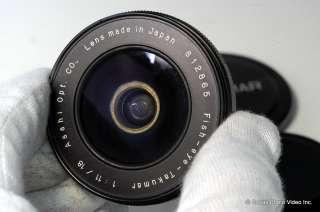 Pentax 18mm f11 M42 Takumar lens Fish eye Fisheye |