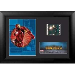 Marvel Comics Studios Iron Man 7.5x5.5 Wood Framed Film