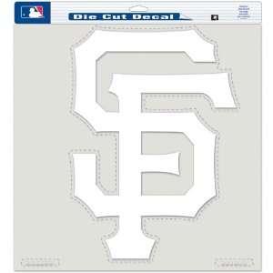 SAN FRANCISCO GIANTS 18x18 CLEAR DIE CUT DECAL Sports