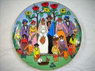 HAWAIIAN WEDDING COLLECTORS PLATE BY ELKE SOMMER 1978
