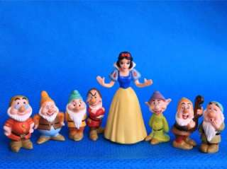 Pcs The Seven Dwarfs & Disney Princesses Snow White Figure N1