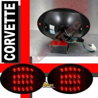 1997 2004 CHEVY CORVETTE C5 Z06 LED TAIL LIGHTS & FRONT BUMPER SIGNAL