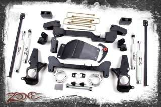 SUSPENSION LIFT KIT 6 01 06 CHEVY AVALANCHE 4WD #C4